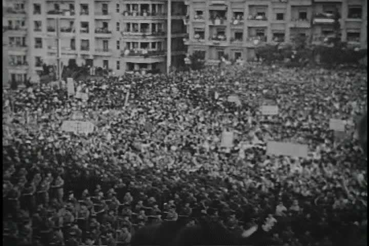 CIRCA 1960s - The Algerian War against France involves General De Gaulle.