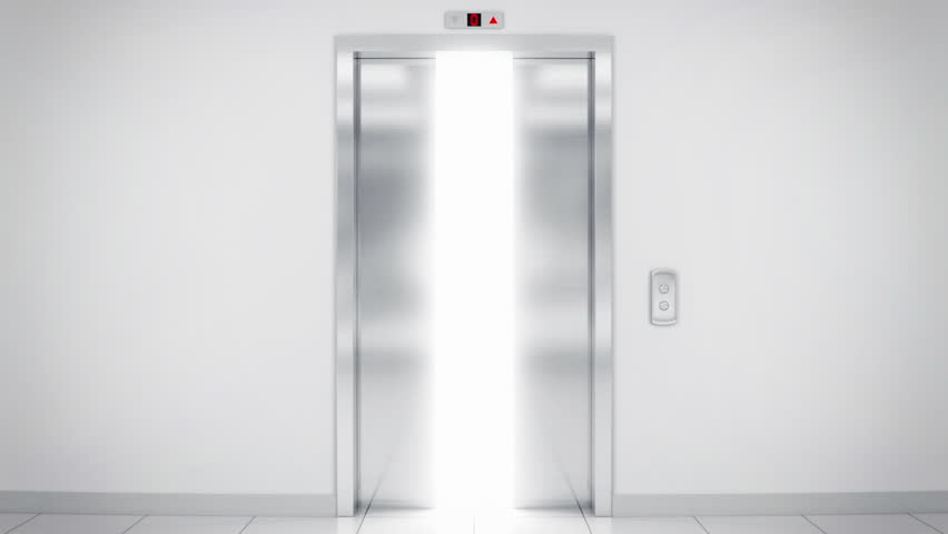 Opening Elevator Doors From Outside Opportunity - HD stock video clip & Opening Doors In Modern Elevator. 3d Animation Stock Footage Video ...