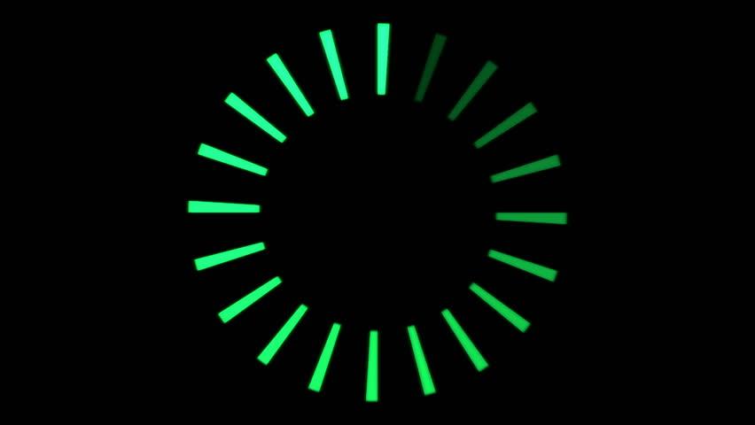 Rotating Ring, Loading Circle - Loop | Shutterstock HD Video #7140070