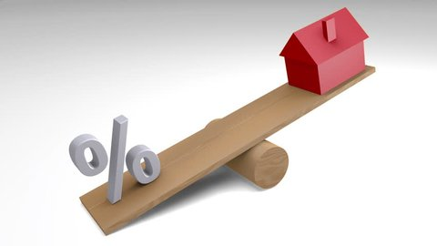 See Saw house, animated graphic to illustrate house price inflation.
