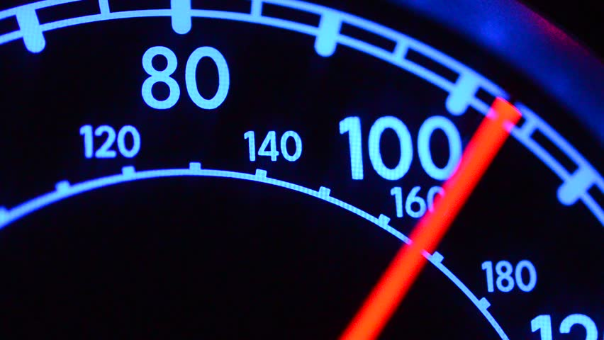 Header of speedometer