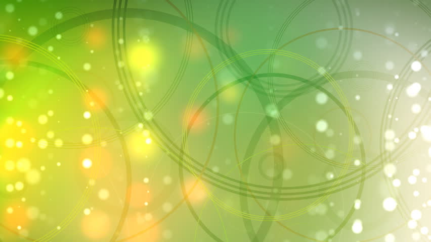 Easy spring background with particles and circles.
