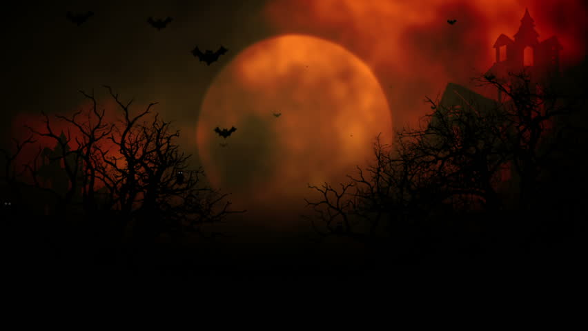 background with the elements during halloween such as ghost bats pumpkins and so on stock footage video 7302892 shutterstock - Halloween Background Video