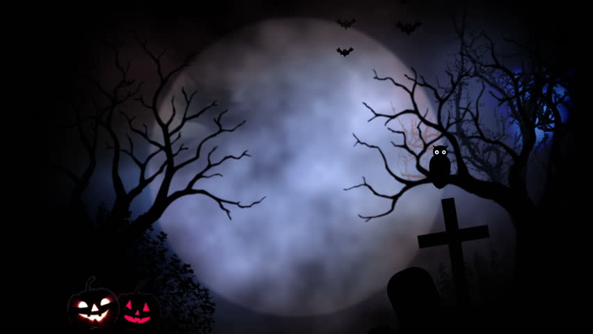 Animated stylish background useful for halloween spooky - Scary animated backgrounds ...