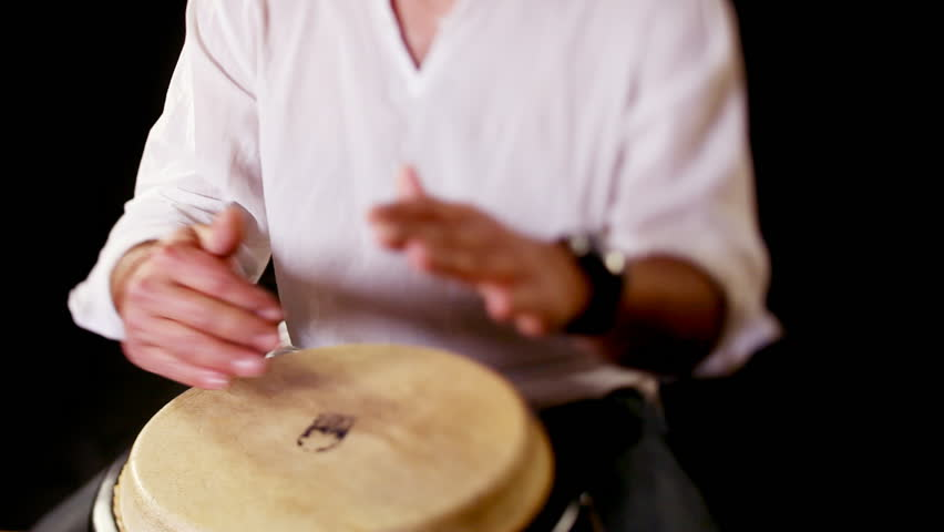 Congo Drummer Performing  Clip Includes Stock Footage Video (100%  Royalty-free) 732322   Shutterstock