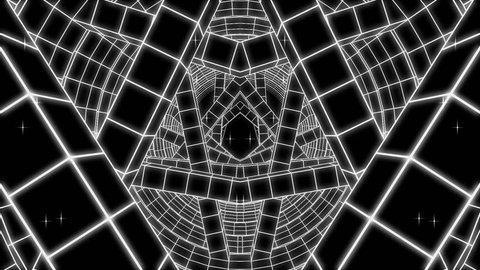 Mirrored Tunnel - VJ Loop