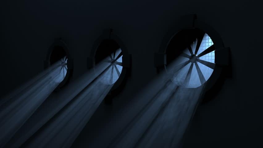 Fans with Volumetric Light