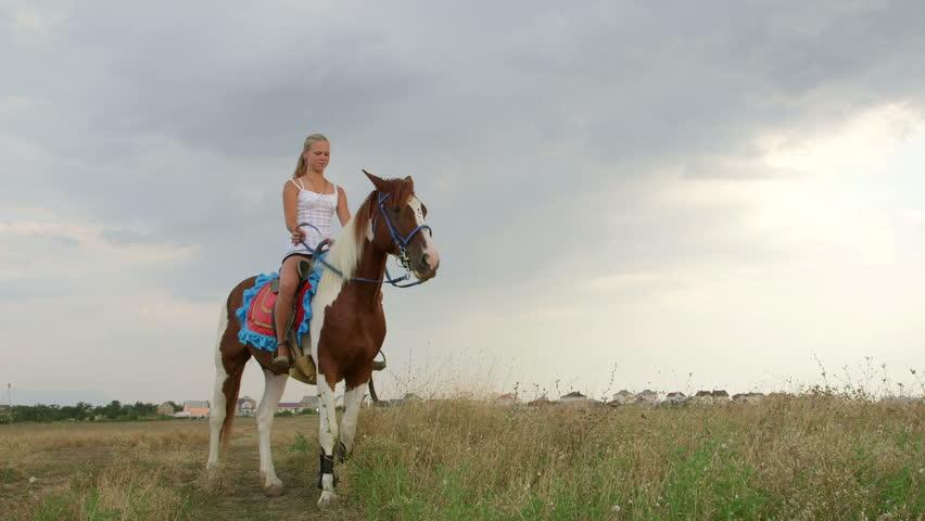 On horse photo 92