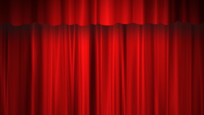 Red curtain | Shutterstock HD Video #744082