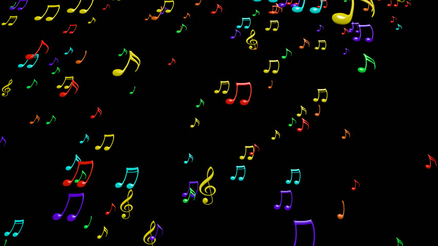 Animated falling colorful 3d music notes in 4k transparent animated falling colorful 3d music notes in 4k transparent background alpha channel embedded with 4k png file stock footage video 7484872 shutterstock voltagebd Images