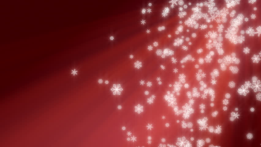 Red christmas abstract frame. Holiday background with golden stars ...