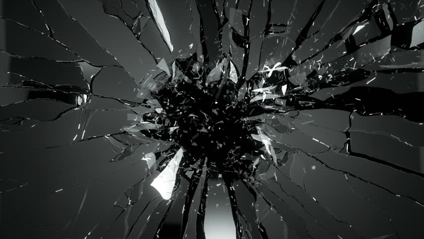 Shattered Glass Stock Footage Video | Shutterstock
