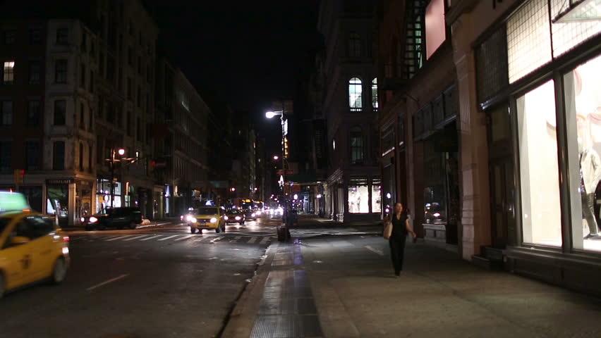 city street corner at night - photo #46