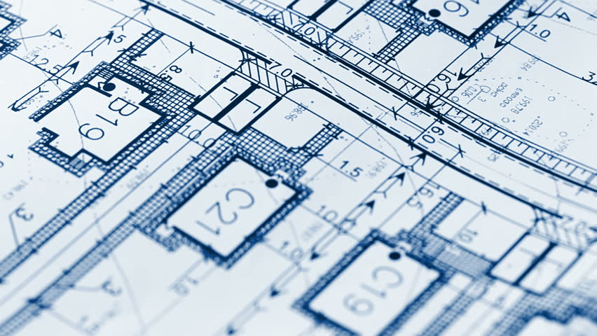 Architecture Blueprints architectural blueprints stock footage video 6588503 | shutterstock