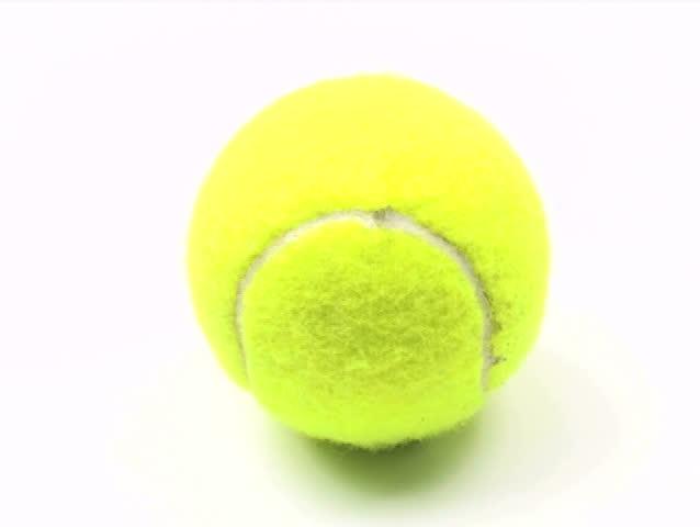 Tennis ball loop high angle V2 - NTSC