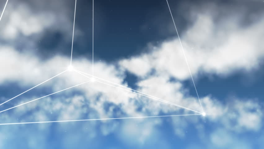 Clear Cloud Computing (Loopable) | Shutterstock HD Video #7649332