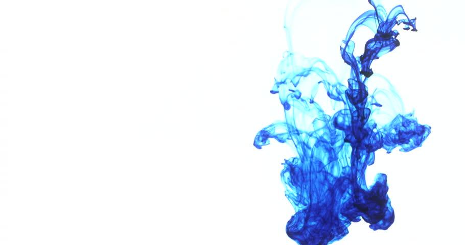 Blue Ink Drops in Water Stock Footage Video (100% Royalty-free) 7683982 |  Shutterstock
