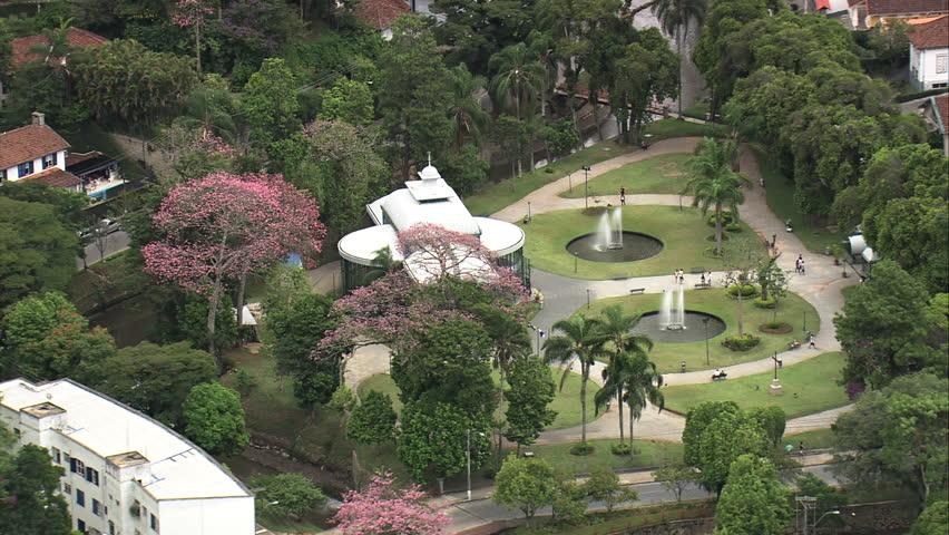 AERIAL- Palacio de Cristal, Petropolis, Brazil
