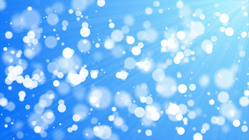 4k Christmas Stars Festive Cute Motion Background Blue Stock ...
