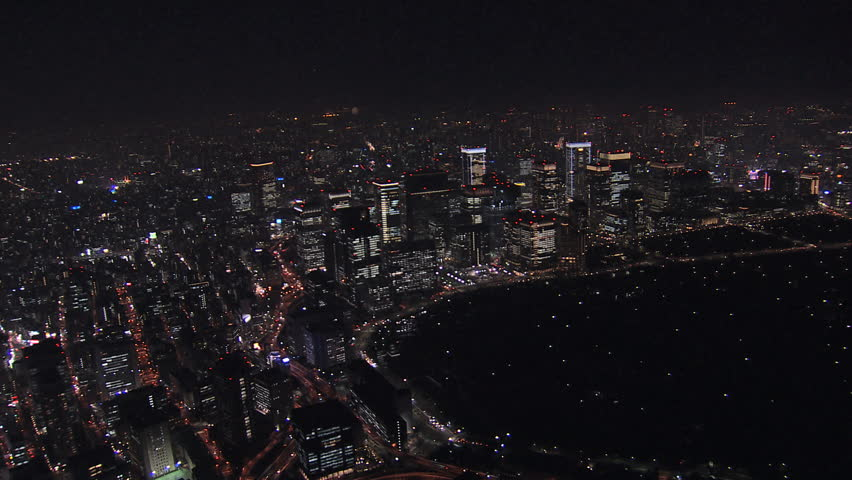 Tokyo At Night From Space