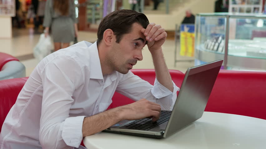 Exhausted, sleepy people for laptop. RAW video record. | Shutterstock HD Video #7816822