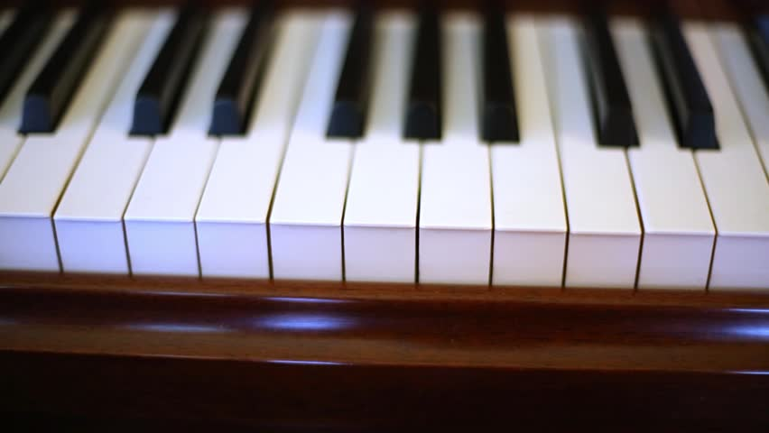 Keyboard of Old Piano, Keys Stock Footage Video (100% Royalty-free) 7894522  | Shutterstock