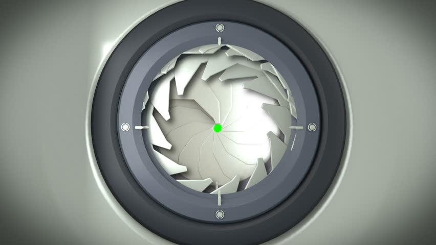 futuristic door open on green screen with alpha channel & Futuristic Door Stock Footage Video   Shutterstock pezcame.com