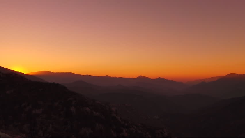 Time Lapse Mountain Sunrise HSD 01 x35