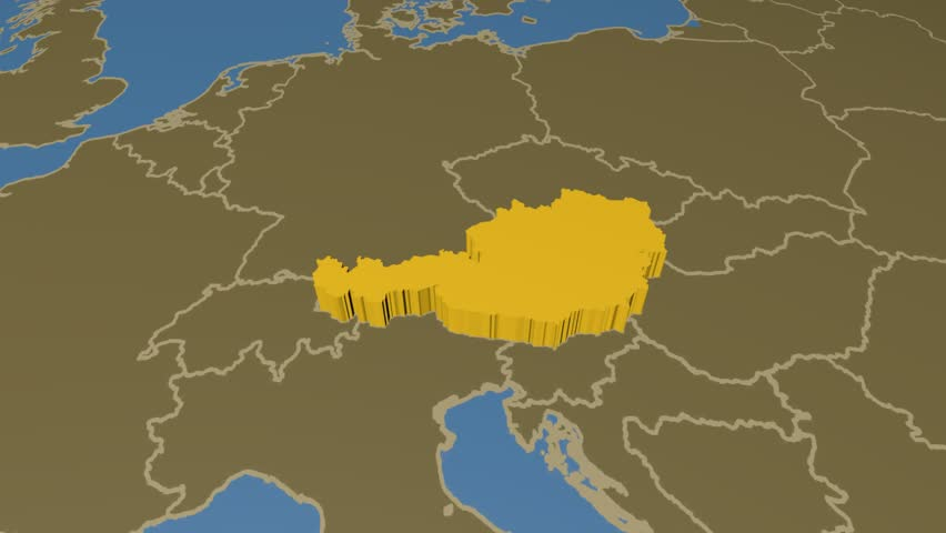 An animated map with the year 1870 soldiers fighting world war i austria extruded on the world map with administrative borders solid colors used 4k gumiabroncs Image collections