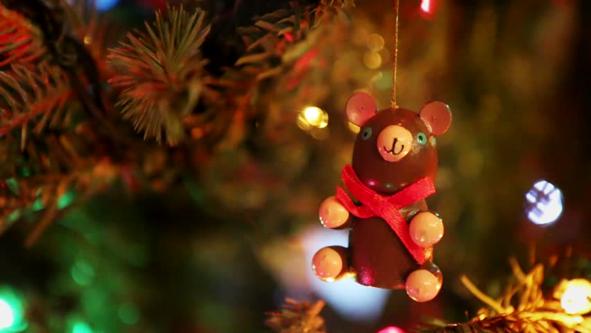 Christmas Ornament Teddy Bear