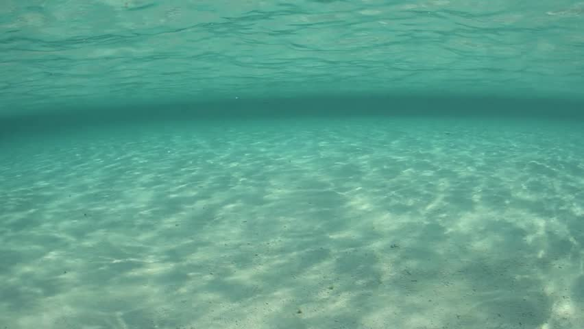 Ocean Sand Underwater