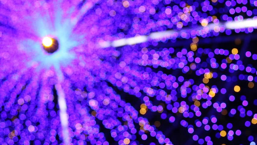 Christmas Blue lights bokeh | Shutterstock HD Video #8226952