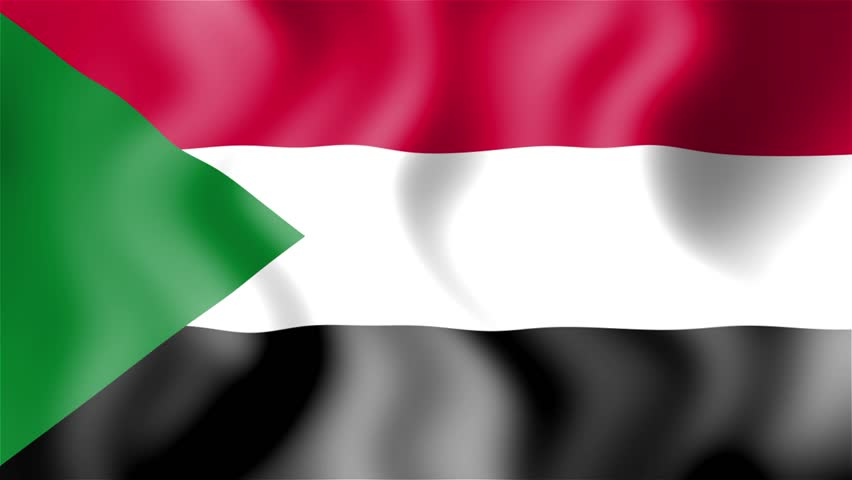 hd waving flag sudan stock footage video 100 royalty