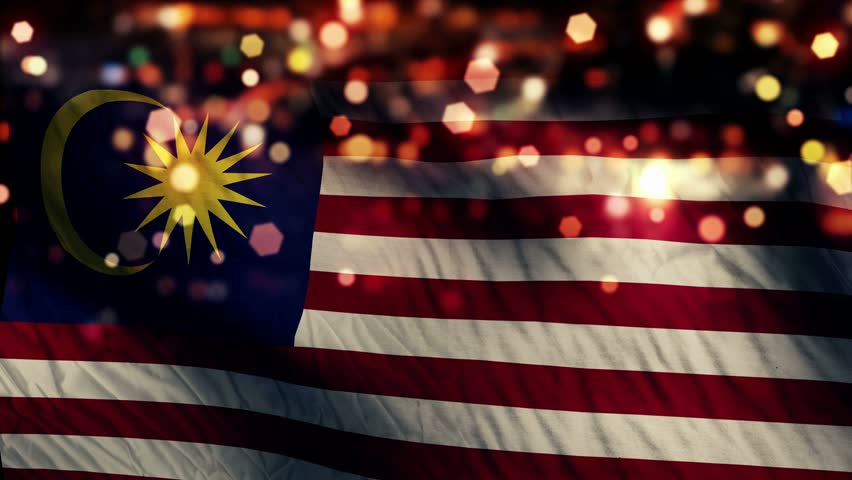 Malaysia flag stock footage video shutterstock for 3d wallpaper for home in malaysia