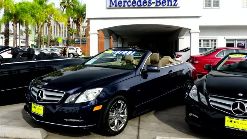 Mercedes benz stock footage video shutterstock for Mercedes benz of santa monica