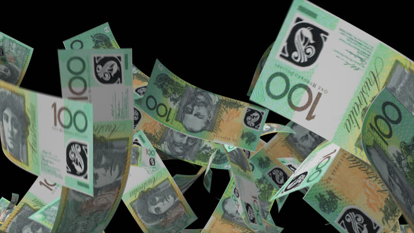 Falling Australian dollar