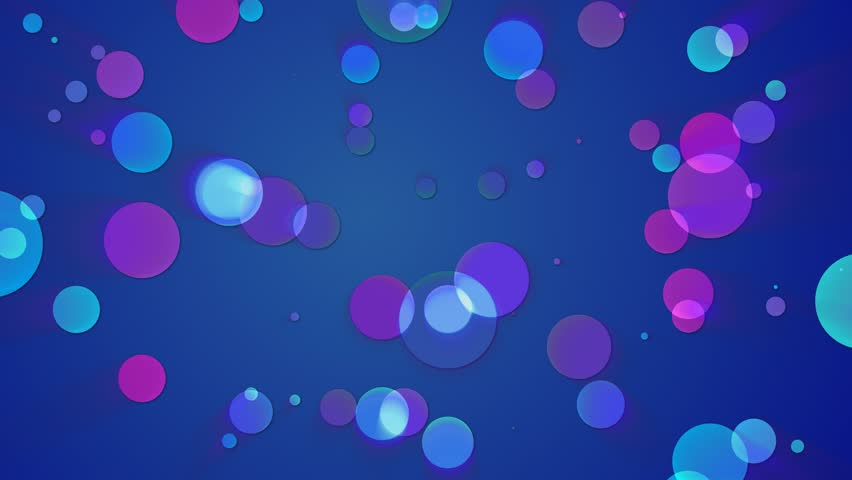 4k Christmas Stars Festive Cute Motion Background Purple And Blue ...