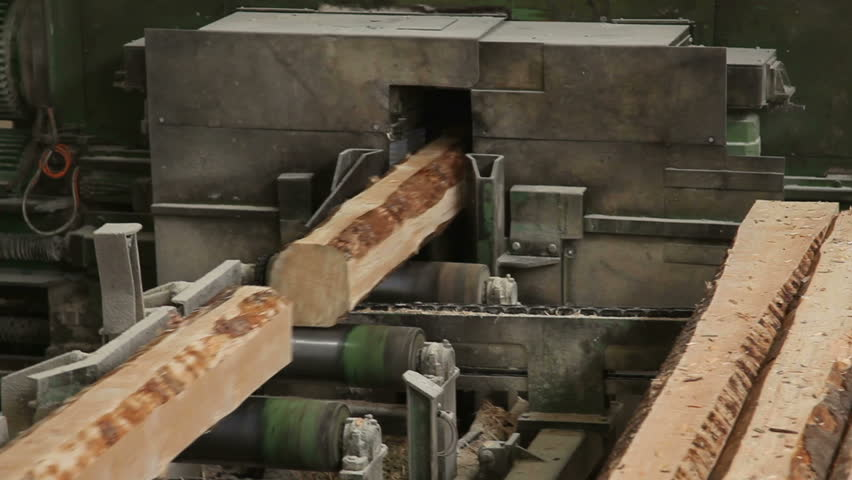 lumber cutting machine