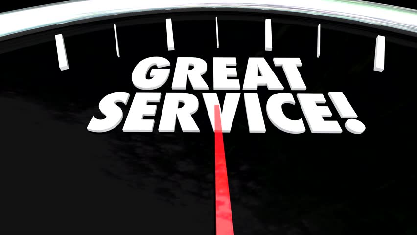 Listen to Customers Anticipate Needs Above Beyond Great Service Speedometer