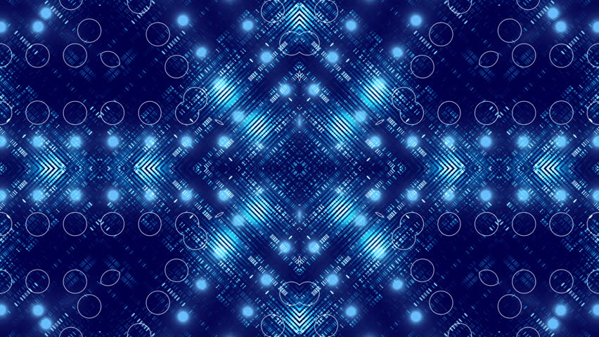 High Definition 3D Animation - Psychedelic Kaleidoscope - Club ...