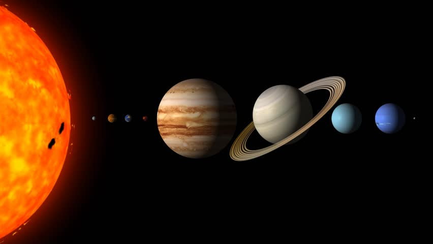 the planets in order from the sun including the asteroid belt - photo #30