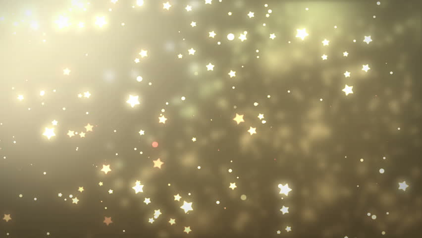 Stars Glitter Background Seamless Stock Footage Video