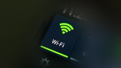 Connecting to wi-fi on smart phone