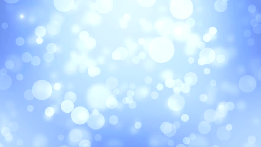 Bokeh Heart Shape Of Light Background Stock Footage Video: Lights Blue Bokeh Background. High Definition Abstract