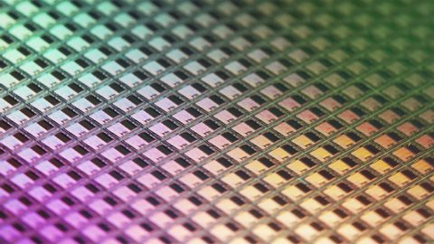 Solid State Memory Wafer Rotation Loop 4k