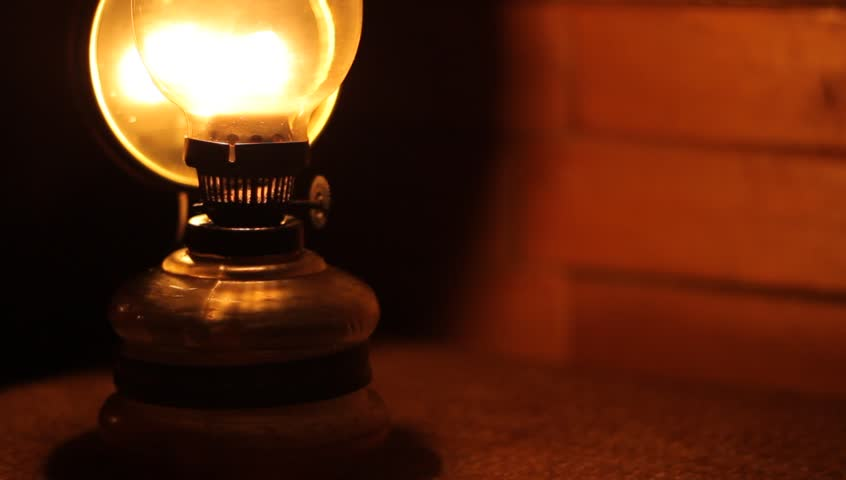 In A Dark Room A Person Makes More Light Using The Old