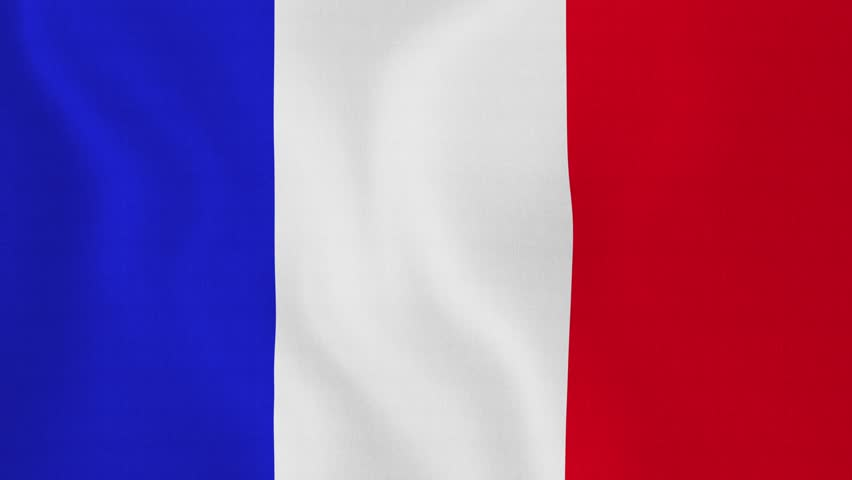 French Flag Stock Footage Video Shutterstock