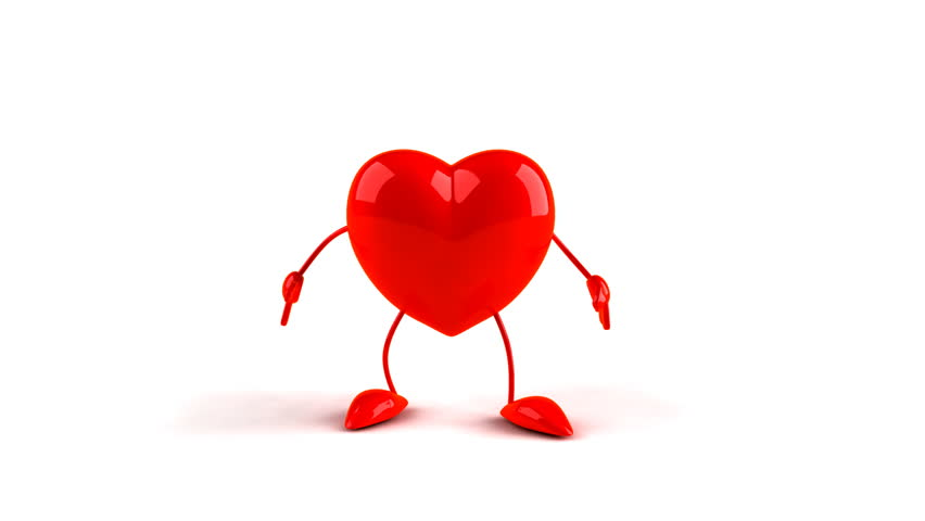 stock video of dancing heart 110470 shutterstock rh shutterstock com dancing heart clipart dancing heart clipart