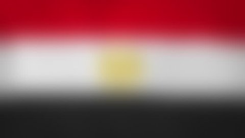 "EG - internet domain of Egypt. Typing top-level domain "".EG"" against blurred waving national flag of Egypt. Highly detailed fabric texture for 4K resolution. Source: CGI rendering. Clip ID: ax1059c"