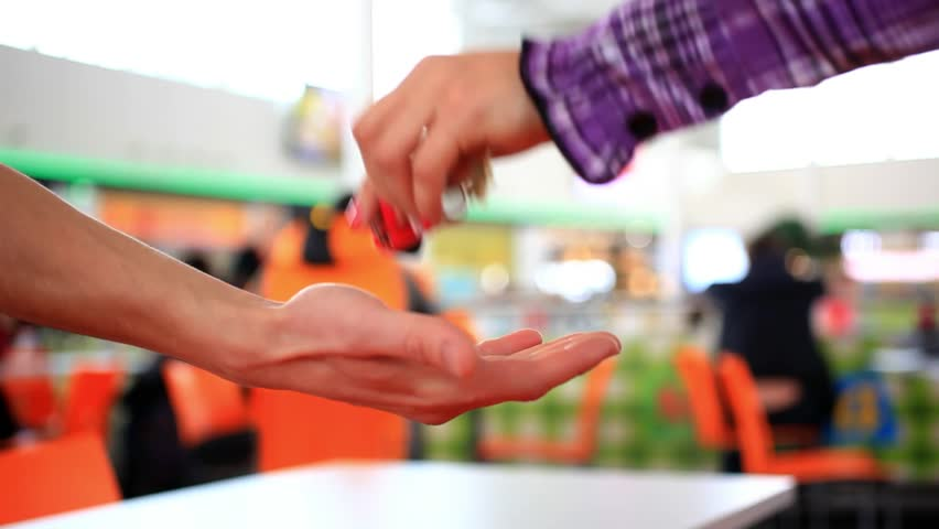 One hand of businesswoman gives house keys to the Hand Of businessman. Signed contract. HD. 1920x1080 | Shutterstock HD Video #9031828